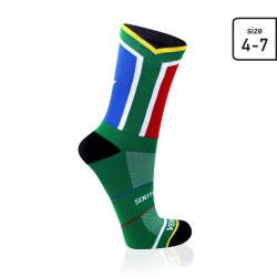SA Flag socks