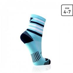 Mint stripe socks
