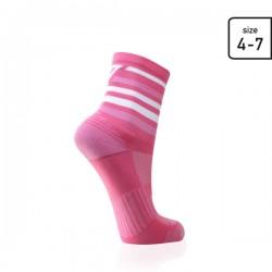 Pink stripe socks